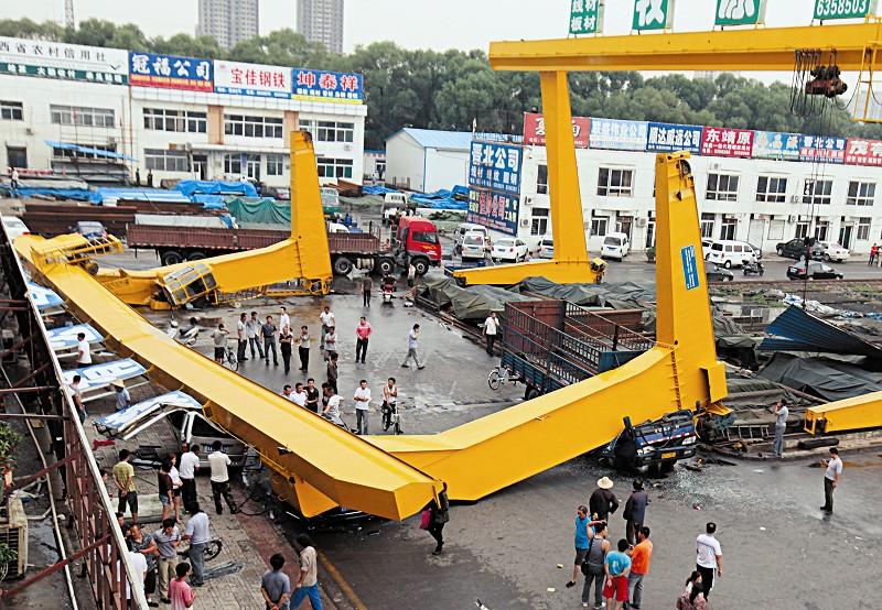 起重机事故案例带给我们的警醒