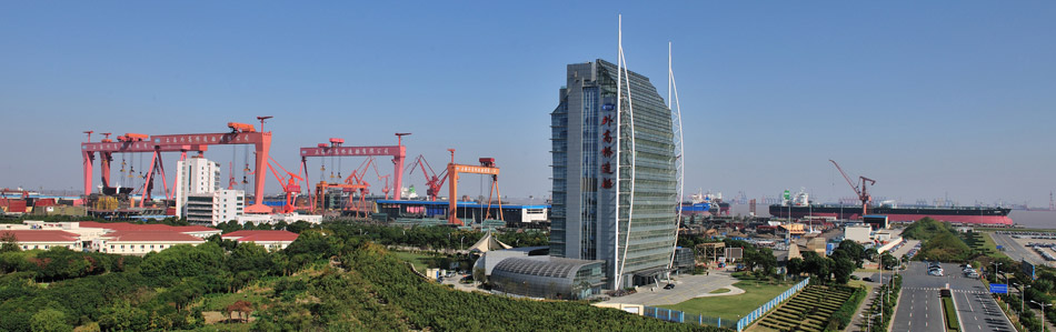 外高桥造船厂