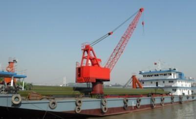 船用挖沙浮式起重机港口起重机