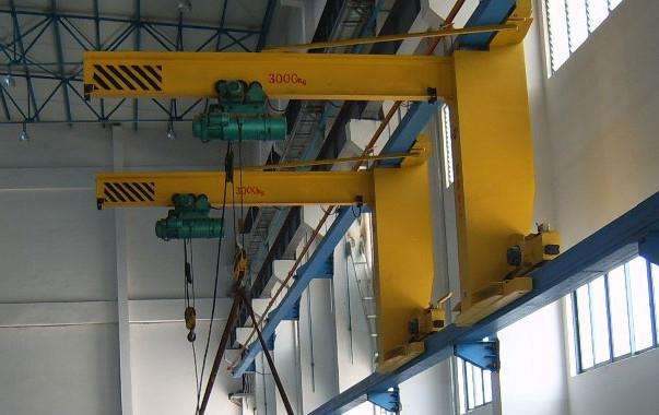 DJB-W型臂柱式悬臂吊墙壁吊四川起重机