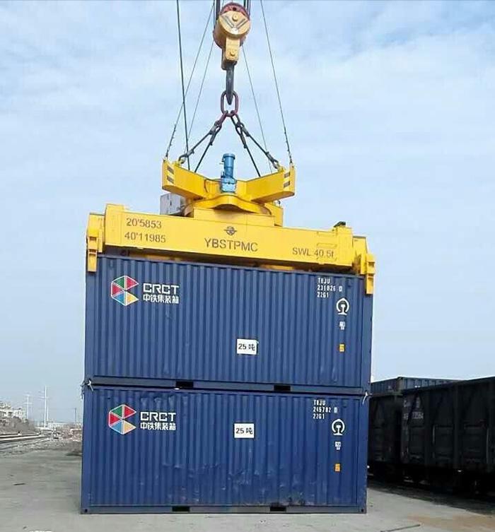 吊钩式20ft/40ft/45f集装箱起重机吊具起重机改造
