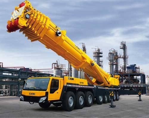 500吨吊车自重多少吨500吨徐工吊车多少钱