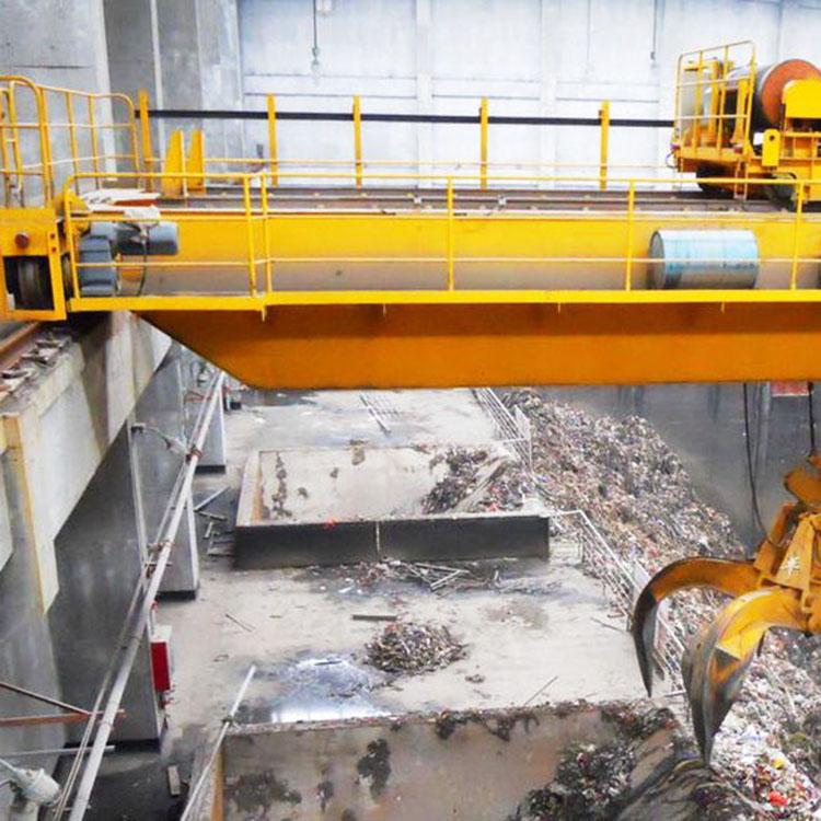 QN/QZ抓斗桥式起重机双梁垃圾吊抓斗起重机10吨行车