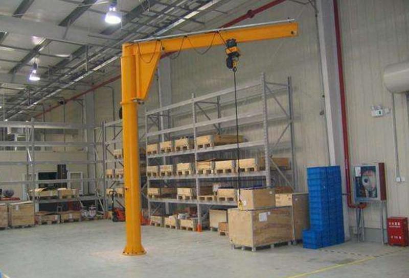 2吨欧式单臂吊定制电动悬臂起重机非标定制柱式旋臂起重机270度旋转起重机