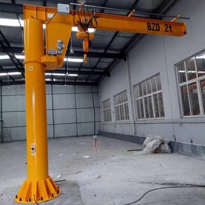 BZ柱式手动旋臂起重机现货悬臂吊立柱式旋臂吊定柱式1T直销简易起重机臂式起重机