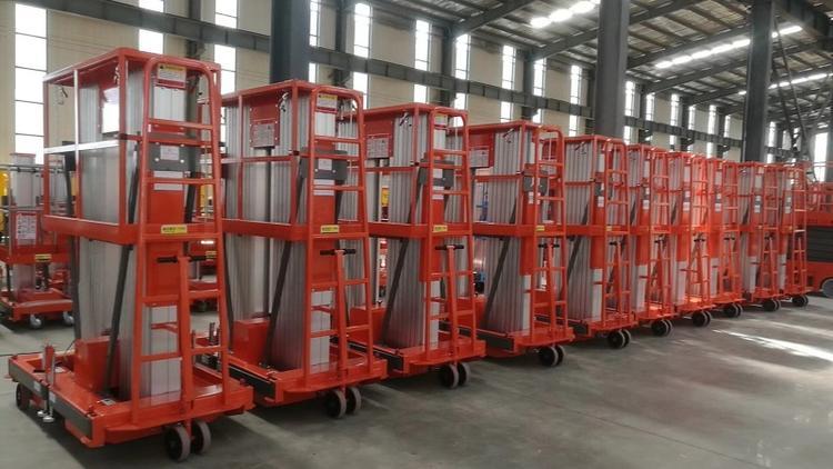 6-14双柱铝合金升降机专业设计定制高空维修用升降机械电动升降机液压升降平台升降货梯