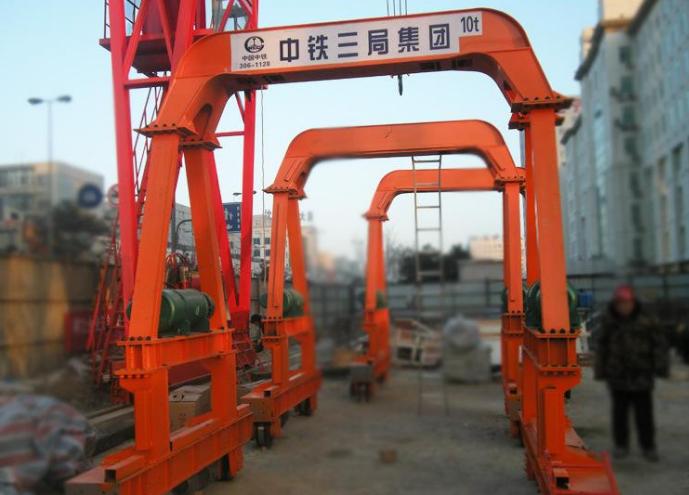 地铁施工设备10t隧道吊隧道专用起重机龙门吊起重装卸机械起重机龙门吊