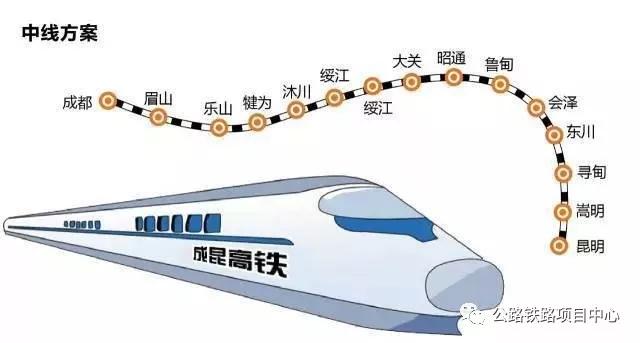 成昆高铁时速350纳入规划3条线路选择!  成昆高铁 时速350 纳入规划 3条线路选择 媒沃重型 媒沃起重机 第3张