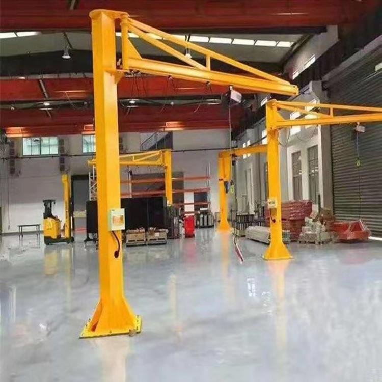 定制悬臂吊单臂吊独臂吊立柱式起重机电动旋转旋臂吊升降机墙壁吊臂式起重机