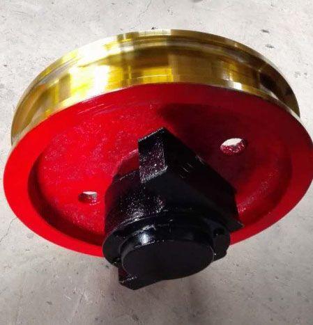 欧式车轮组行车车轮组套装车轮组调制车轮组角箱车轮组起重机网
