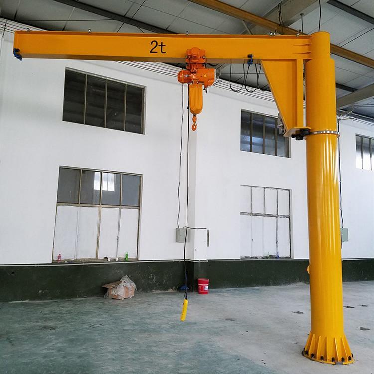 250公斤/500公斤/1吨/2吨电动悬臂吊BZD1定柱式旋臂起重机物料吊运单臂吊重型旋臂