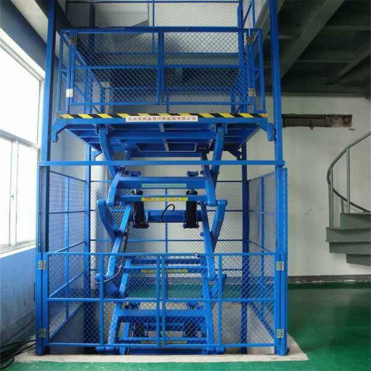 大连货梯载重8吨升降货梯升高10米厂房专用液压货梯6吨货梯供应 简易货梯厂家