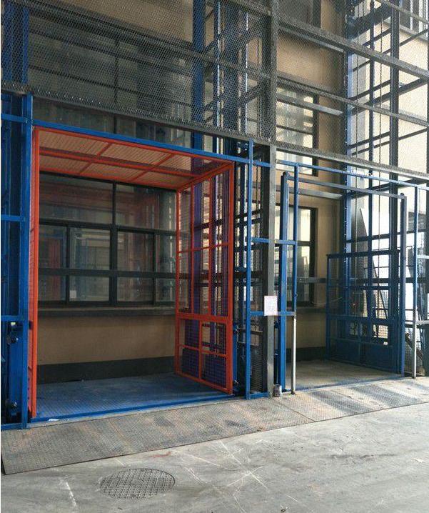 无锡升降平台货梯厂房载货升降机电梯导轨式升降机厂家0.3吨-20吨液压升降台特殊定制