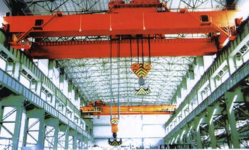 QP型抓斗电磁QN型抓斗吊钩两用桥式起重机QB型5-50/10吨防爆起重机中国起重机械网