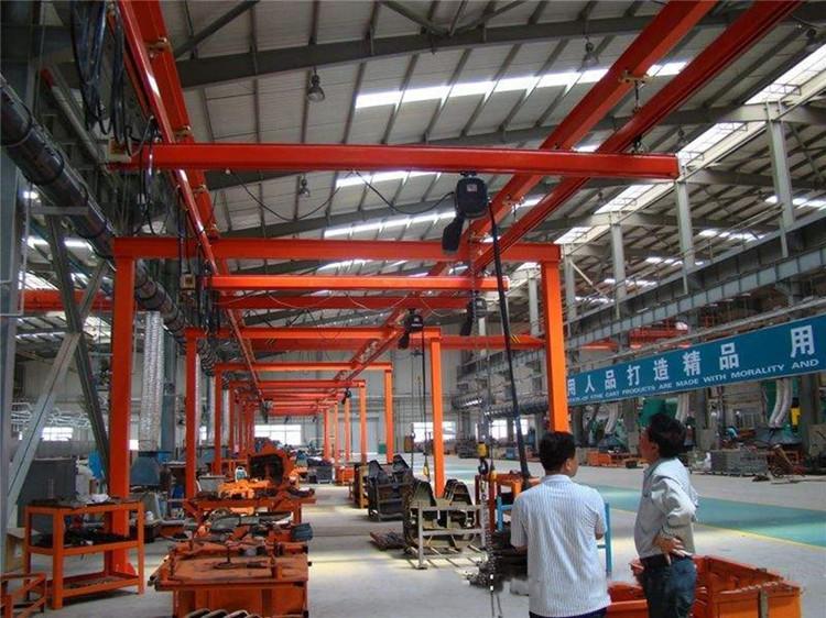 KPK柔性轻型组合KBK柔性起重机柔性吊 轻型起重机 立柱式柔性轨道起重机成都起重机