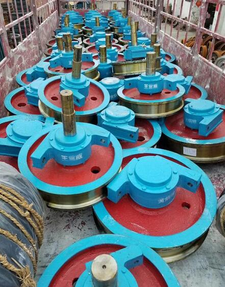 车轮组起重机遥控器起重机缓冲器起重机滑触线电磁吸盘减速机天津起重设备