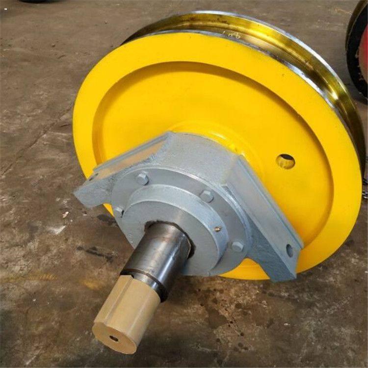 起重机用LD车轮组300/400可定制QD通用吊钩桥式起重机车轮组定制