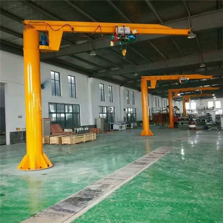 BZD0.55定柱式旋臂起重机500公斤生产线装配线重物吊运重型旋臂起重机电动单臂吊