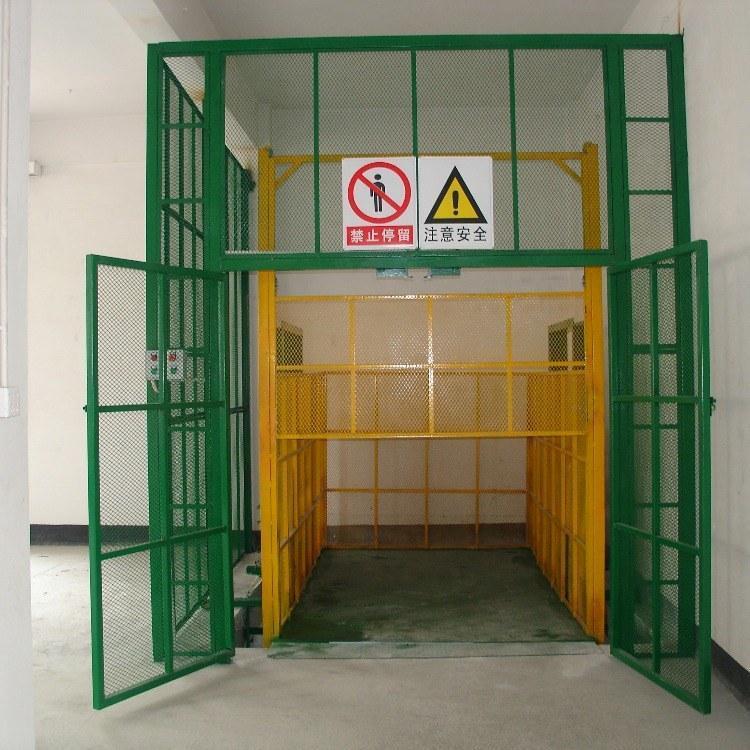 液压升降平台导轨升降机室内简易厂房货梯杂物电梯简易升降平台